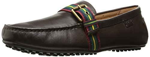 Polo Ralph Lauren Men's Wessel Driving Style Loafer, Chocolate, 10.5 D - Polo Lauren Com Ralph