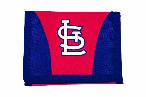 The Northwest Company MLB St. Louis Cardinals Chamber Wallet, Red