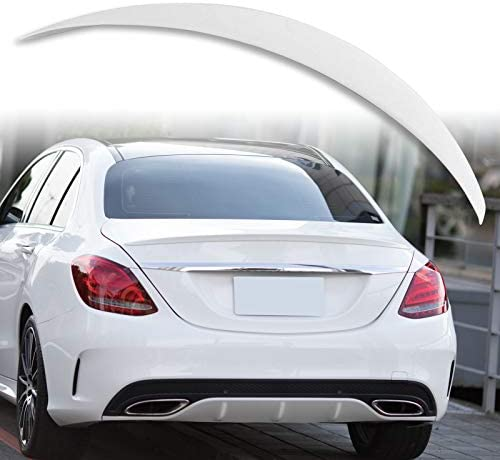 Painted Rear Boot Spoiler For Mercedes Benz CLS W218 A Style Cavansite Blue 890