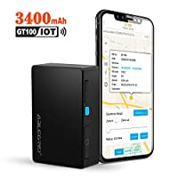 ABLEGRID GPS Tracker for Vehicle, 2020 IOT Ver. 4G Real-time GPS Tracking Device 3400mAh Small Hidden GPS Locator for Vehicle, Car, Personal, Valuable, Equipment