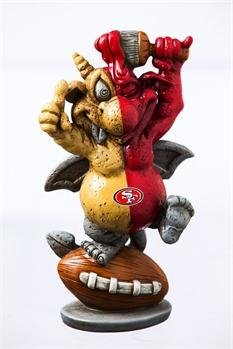 Team Sports America San Francisco 49ers GOgoyle Garden Statue