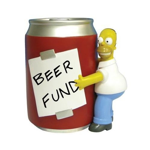 Simpsons Bank Homer & Beer Style (Simpsons Bank)