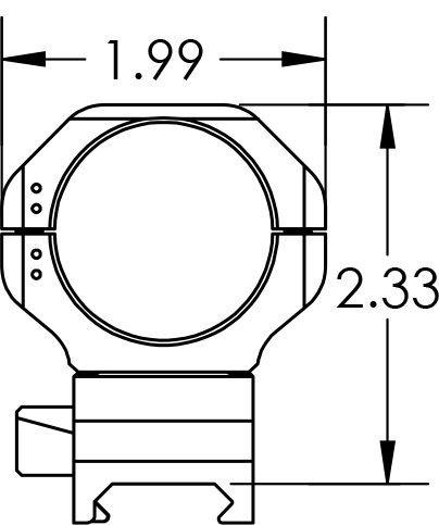 KDG Sidelok Cntlvr Scope Rng 34Mm Stock Accessories by KDG (Image #3)