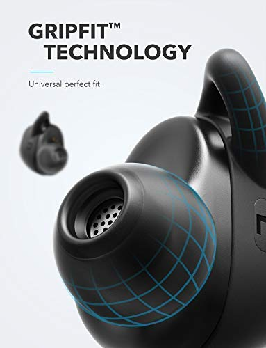 Soundcore Truly-Wireless Earbuds, Liberty Neo by Anker, Wireless Headphones with Graphene-Enhanced Drivers, 12-Hour Playtime, IPX5 Water-Resistant, Stereo Calls, AAC, Microphone, and Bluetooth 5.0 by Soundcore (Image #5)