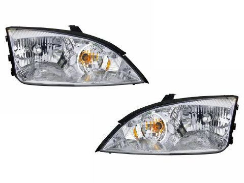 ford-focus-headlight-headlamps-oe-style-replacement-driver-passenger-pair-new