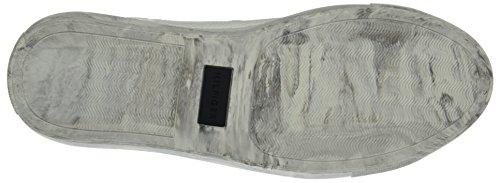 Tommy Hilfiger L2385oop 1a, Scarpe da Ginnastica Basse Uomo Bianco (White 100)