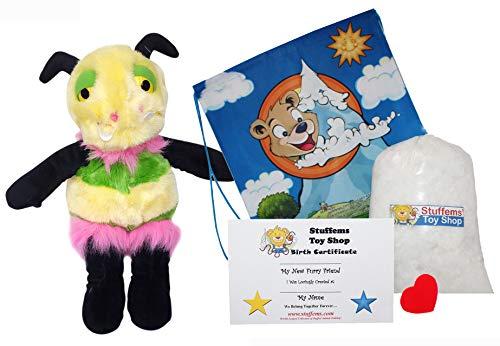 Stuffems Toy Shop Haga su Propio Animal Relleno Mimosa Bug Monster ...