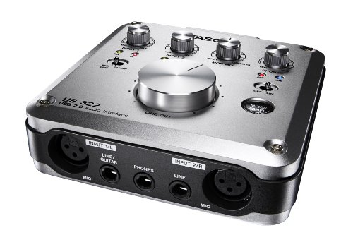 TASCAM US-322 2-In/2-Out USB Audio Interface, Outdoor Stuffs