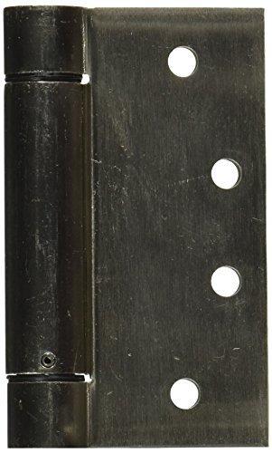 NATIONAL MFG/SPECTRUM BRANDS HHI N350-801 Spring Door Hinge, 4-Inch, Satin Nickel by NATIONAL MFG/SPECTRUM BRANDS HHI