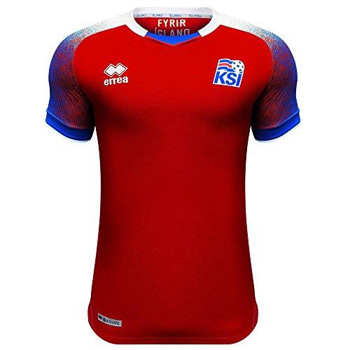 豆腐消費血まみれ2018-2019 Iceland Third Errea Football Shirt