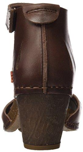 Brown I Damen Sandalen Meet Art 0144 Knöchelriemchen Mojave Braun pwxwq8tdn