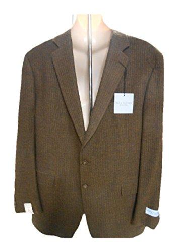 Jack Victor Males's Swimsuit Blazer, Brown, 46L