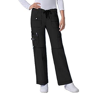Dickies Gen Flex Women's Junior Fit Top 817455 GenFlex Drawstring Pant 857455 Scrub Set