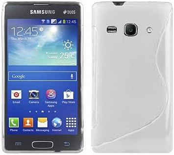 Cadorabo Funda para Samsung Galaxy Ace 3 en Blanco MAGNESIO: Amazon.es: Electrónica