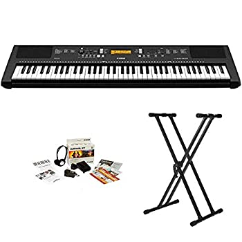 yamaha ypg 535 88 key portable grand piano with stand and power adapter musical. Black Bedroom Furniture Sets. Home Design Ideas