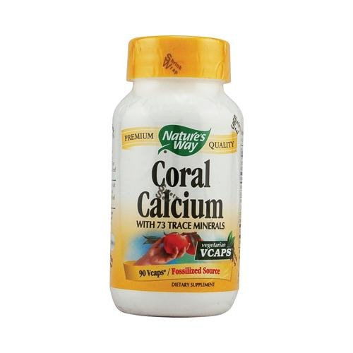 Natures Way Coral - Coral Calcium 90 Veg Capsules