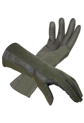 Hatch BNG220 Flight Glove with Nomex (Foliage, Small)