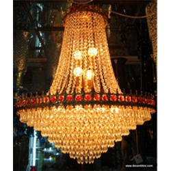 Buy genric jhoomer ceiling light decorative chandelier with three ...