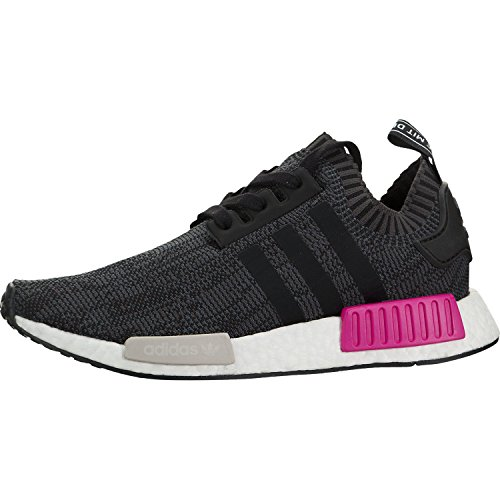 Adidas NMD_R1 Prime Knit Women's Black/White/Pink - BB236...