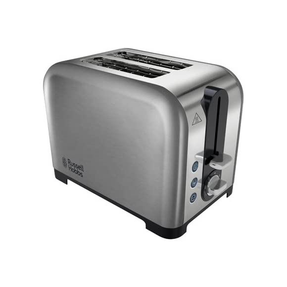 Russell Hobbs 22390 Canterbury 2-Slice Toaster - Stainless Steel