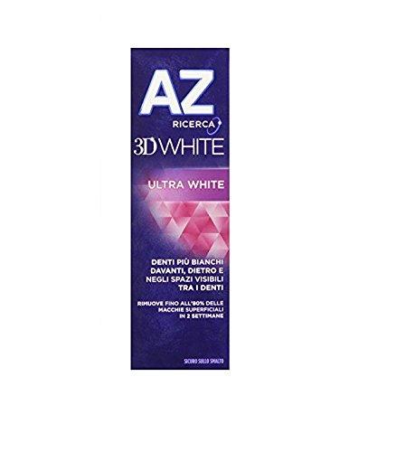 68 opinioni per AZ 3DWhite Ultra White Dentifricio da 75 ml