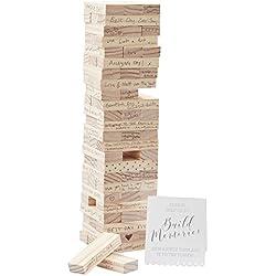 Wedding Guest Book Ideas Guest Book Alternatives Wedding Games Build a Tower