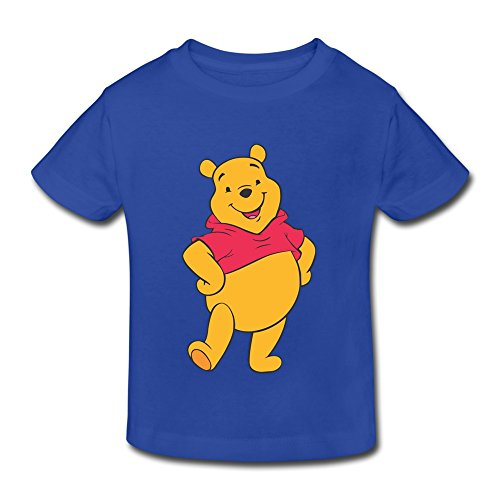 Customized Short Sleeve Fashion Winnie The Pooh Vector Kids Toddler Tee Shirt Size 2 Toddler (Customized Kids Clothes)