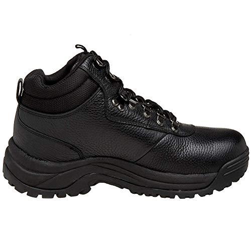 (Propét Mens Cliff Walker Leather Closed Toe Ankle Fashion, Black, Size 12.0)