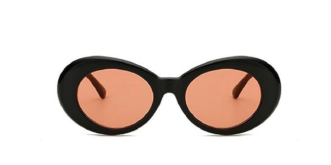 34a3484962510 New fashion Women Oval Sunglasses NIRVANA Kurt Cobain Men Vintage Sun  Glasses (C2)