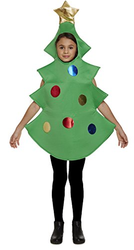 GUBA® Unisex Christmas Tree Fancy Novelty Xmas Festive (Xmas Tree Outfits, Large (10-12 Years)) -