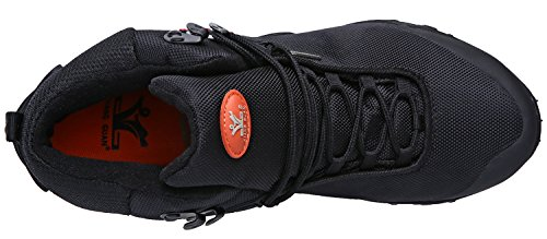 Black GUAN XIANG Top Boots High Hiking Men's Trekking Resistant Oxford Outdoor Water FxqPwx