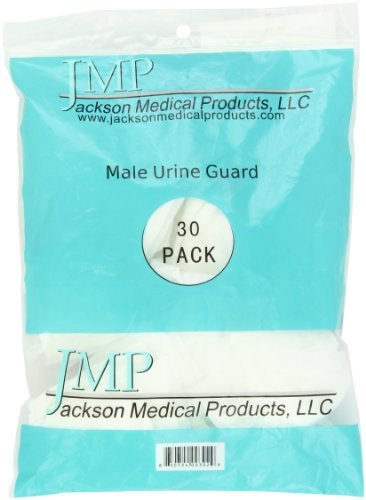 Male Urine Guard, JMP Absorbent Incontinence Pouch, Bag of 30