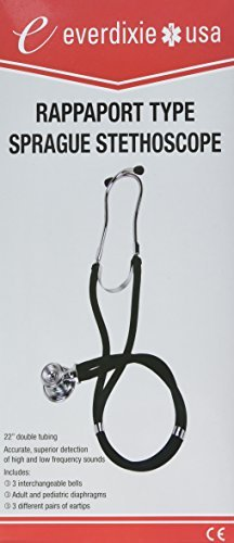Dixie Ems Stethoscope, Sprague Rappaport, Orange by Dixie - Stores Mall Dixie