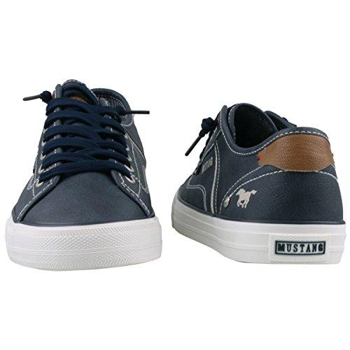 Mustang Herren Sneaker Blau Blau