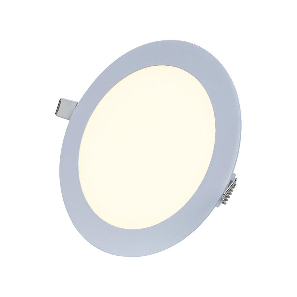 Splindg 4 Pollici 5,5 Pollici 6,5 Pollici Ultrasottile Rotondo LED Panel Light, 6W 9W 12W Caldo Freddo Bianco Illuminazione, LED Incasso plafoniera, soffitto Pannello Rotondo Downlight