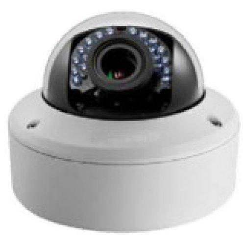 CCTVSTAR HVD-1MI2812D-TW HD over Coax with HD-TVI Technology Vandal Proof IR Dome Camera 1/3†Progressive Scan CMOS Imager, HD 720P Video Output 2.8-12mm vari-focal Lens 120 feet IR distance, True Day & Night, Smart IR OSD, 3D DNR, IP66 & Vandal Proof