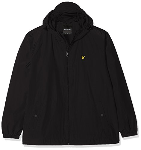 Size Lyle true Nero Through Plus Uomo Black Zip Hooded Jacket amp; Cappotto Scott SqOSWRgU
