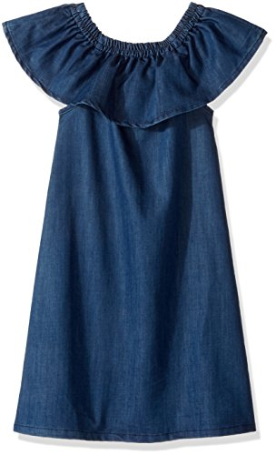 Hudson Big Girls' Bella Dress, Galeon, L