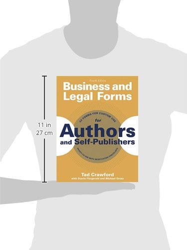 Business and Legal Forms for Authors and Self-Publishers (Business and Legal Forms Series) by Allworth Press