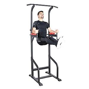 Ultrasport Power Tower, station de musculation pour un entraînement varié à la maison, tour de musculation, Gymtower…