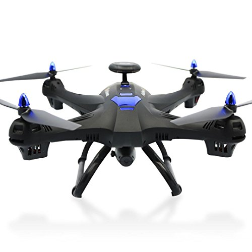 New Global Drone 6-axes X183 With 2MP WiFi FPV HD Camera GPS Brushless Quadcopter,Nacome (Black)