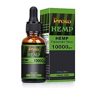 PROTOHEMP Hemp Natural Oil , Vegan Friendly,Powerf...
