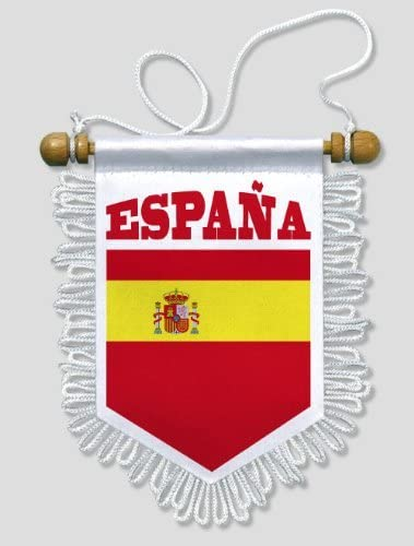 KOO Interactive - Bandera Espana - 13 x 15 cm - banderin para ...