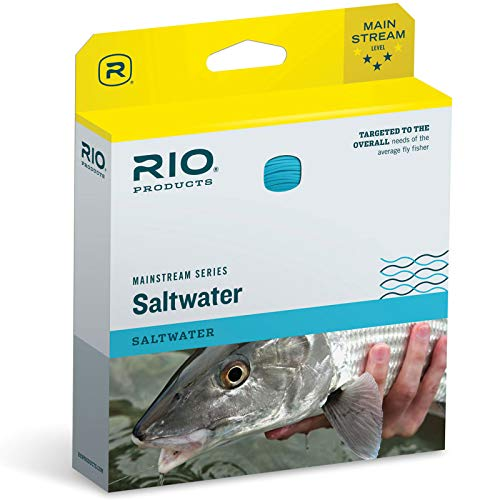 RIO Products Fly Line Mainstream Saltwater Wf8F, Blue