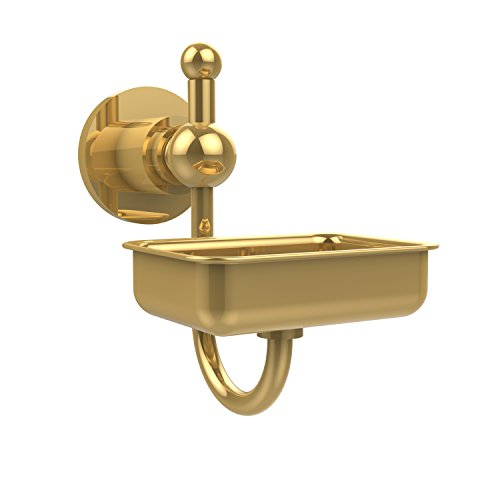 - Allied Brass AP-32-PB Astor Place Wall Mounted Soap Dish, Polished Brass