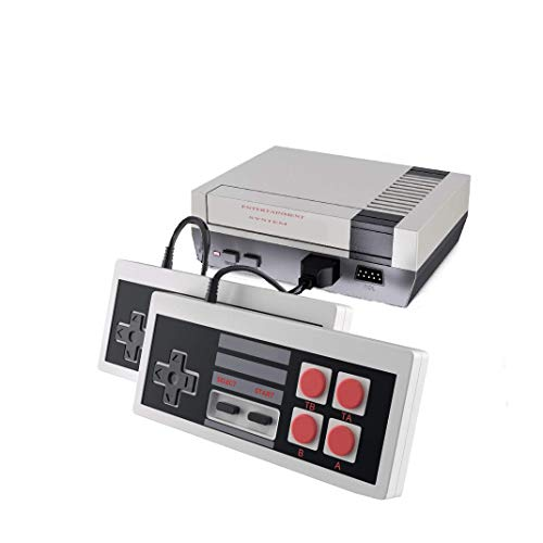 620 Retro Classic Video Game Console with Built-in 620 Games and 2 NES Classic Controllers,AV Output Video Games for…