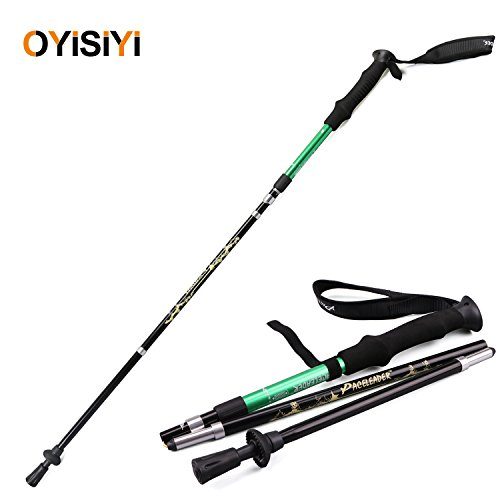 OYISIYI Ultralight Trekking Pole,Anti Shock Hiking Pole,Walking Stick For Climbing Traveling