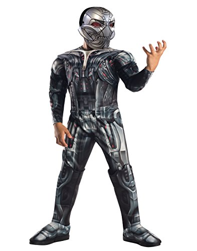 Rubie's Costume Avengers 2 Age of Ultron Child's Deluxe Ultron Costume, (Halloween Costumes Two Guys)