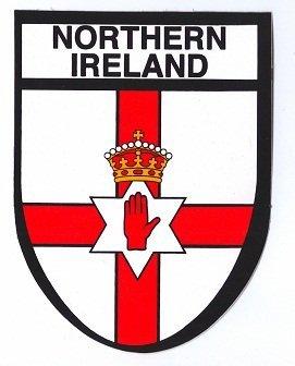Stickyrico1 Northern Ireland Souvenirs Northern Ireland Sticker EU Gifts