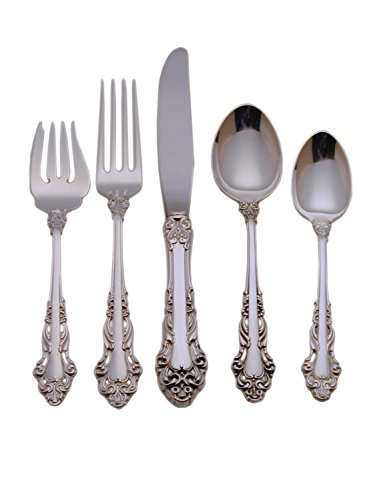 Reed & Barton Grande Renaissance Sterling Silver 65-Piece Flatware Set with Chest, Service for (Reed And Barton Grand)